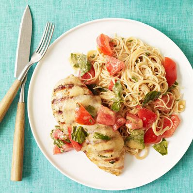 Caprese-Style Grilled Chicken Breasts