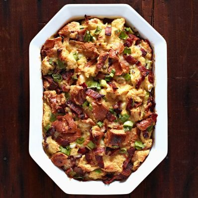 Bacon Bread Pudding