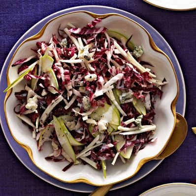 Radicchio, Apple and Celery Root Salad