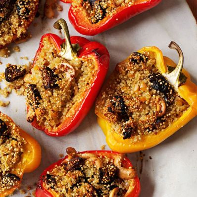 Quinoa-Stuffed Peppers