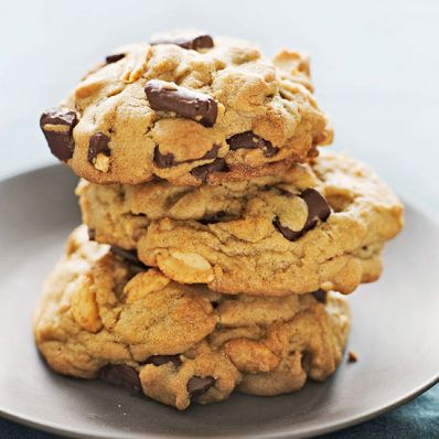 PB Chocolate Chunk Cookies
