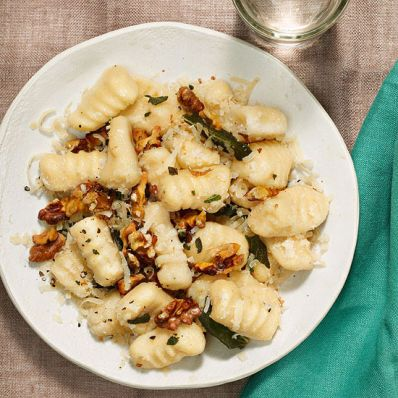 Gnocchi with Butter, Sage and Walnuts