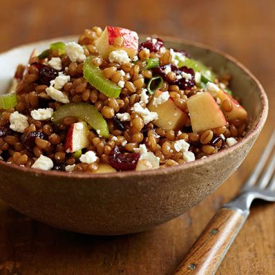BEAN AND GRAIN SALAD