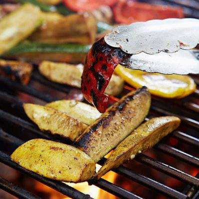 Mixed Vegetable Grill with Balsamic-Honey Marinade