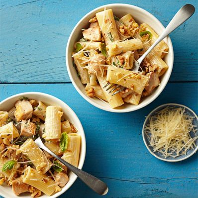 Rigatoni with Gorgonzola Sauce and Chicken