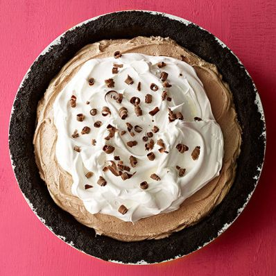 Milk Chocolate Icebox Pie