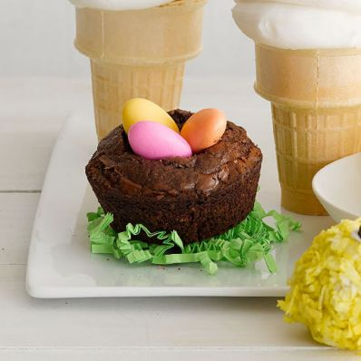 Brownie Bird Nests