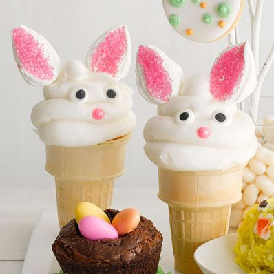 Bunny Surprise Cones