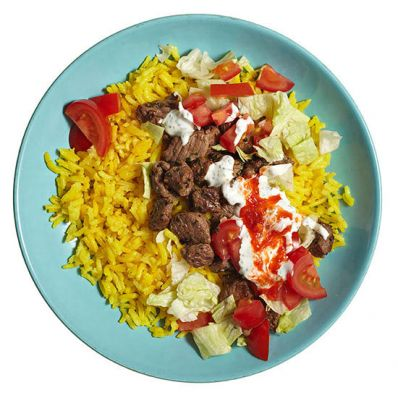Middle Eastern Lamb and Rice