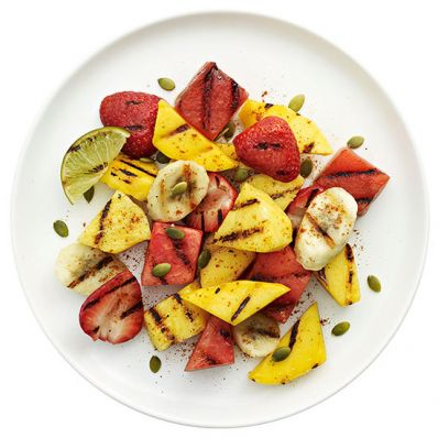 Grilled Fruit Salad