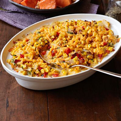 Creamy Corn and Bacon Casserole