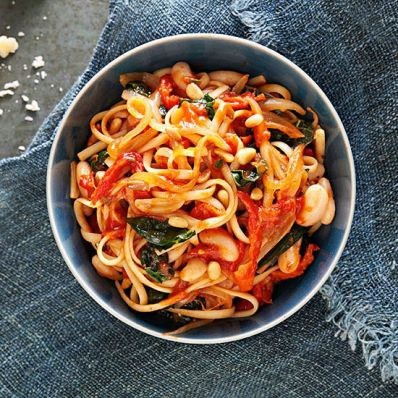 Hearty Tuscan Linguine