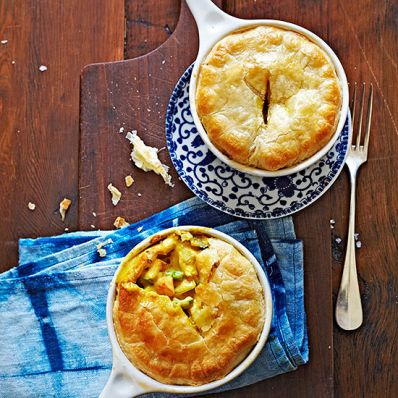 Shawarma Chicken Pot Pie