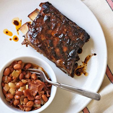 Coffee-Molasses St. Louis-Style Ribs