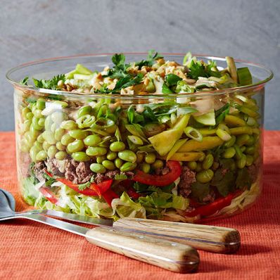 Seven-Layer Thai Salad