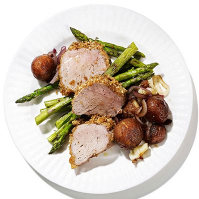 Herb-Crusted Pork Tenderloin