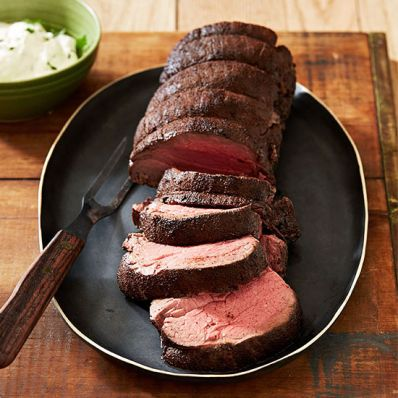 Beef Tenderloin with Horseradish Sauce
