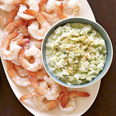 Cocktail Shrimp with Coconut Chutney