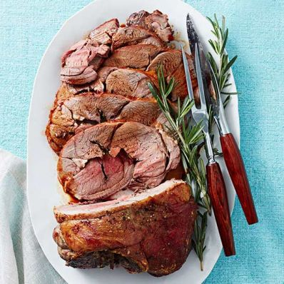 Rosemary-Garlic Roasted Lamb