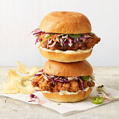 Fried Chicken Sandwiches