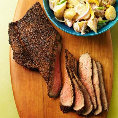 Jerk-Rubbed London Broil