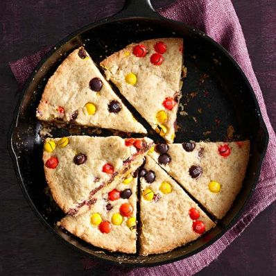 Halloween Skillet Cookie