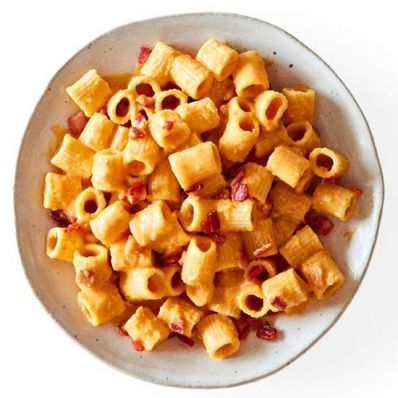 Pumpkin-Bacon Pasta