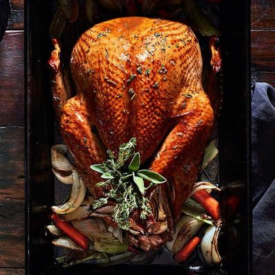 Golden Roast Turkey