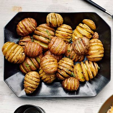 Hasselback New Potatoes