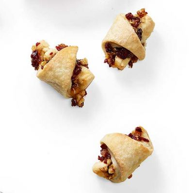 Walnut-Raisin Rugelach