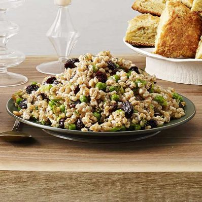 Lemon Farro with Peas