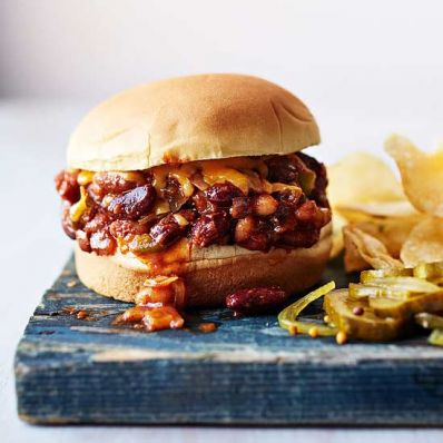 3-Bean Sloppy Joes