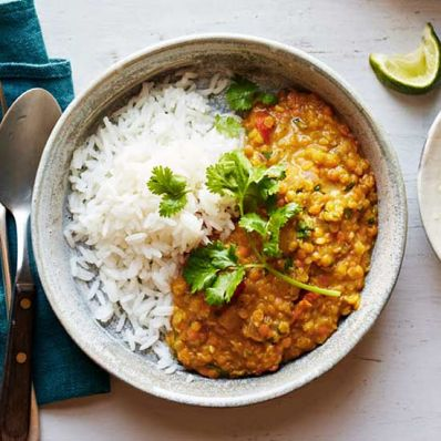 Red Lentil Thai Curry