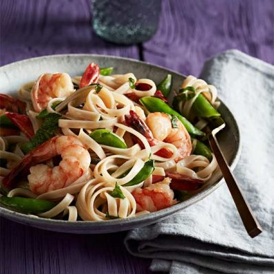Coconut-Lime Shrimp Noodles