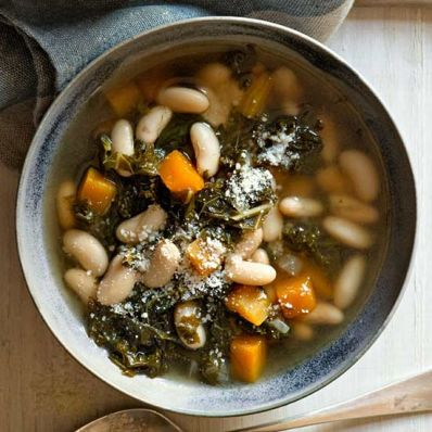 Smoky White Bean and Winter Vegetable Soup
