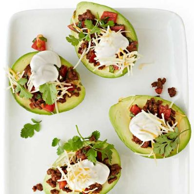 Taco-Stuffed Avocados