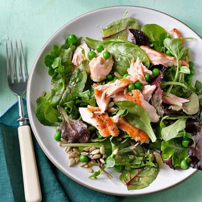 Citrusy Salmon Salad