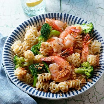 Broccoli Shrimp Scampi