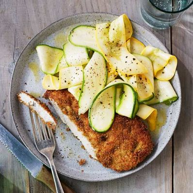 Lemony Chicken Cutlets