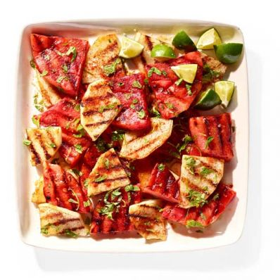 Grilled Watermelon-Jicama Salad