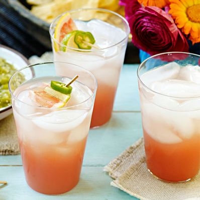 Grapefruit and Guava Fizz