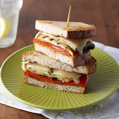 Grilled Veggie Sandwiches