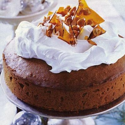 Spice Cake with Praline