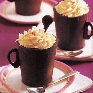 Mint Chocolate Teacups