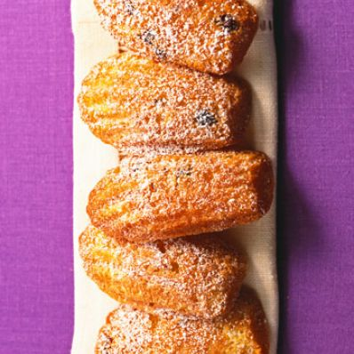 Orange-Hazelnut Madeleines