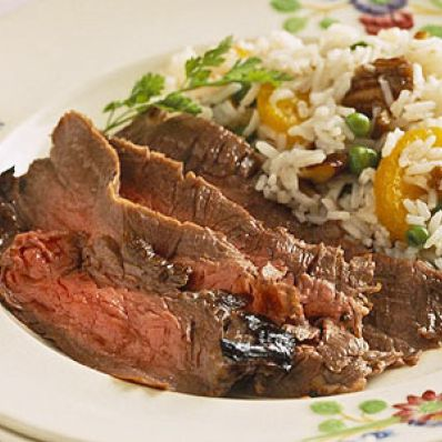 Orange-Marinated Flank Steak