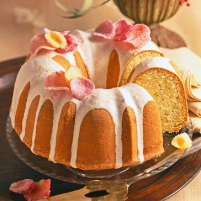 Orange Poppy Seed Bundt Cake Family Circle