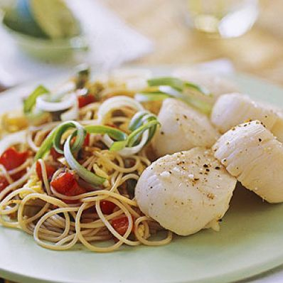 Asian-Style Scallops