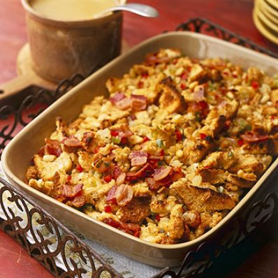 Bacon Pine Nut Stuffing