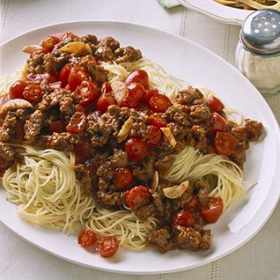 Sausage And Cherry Tomato Sauce
